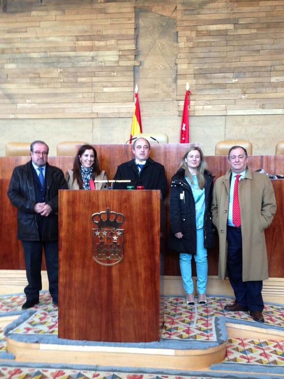 El 12 de febrero tuvimos en la comisión de Discapacidad de la Asamblea de Madrid